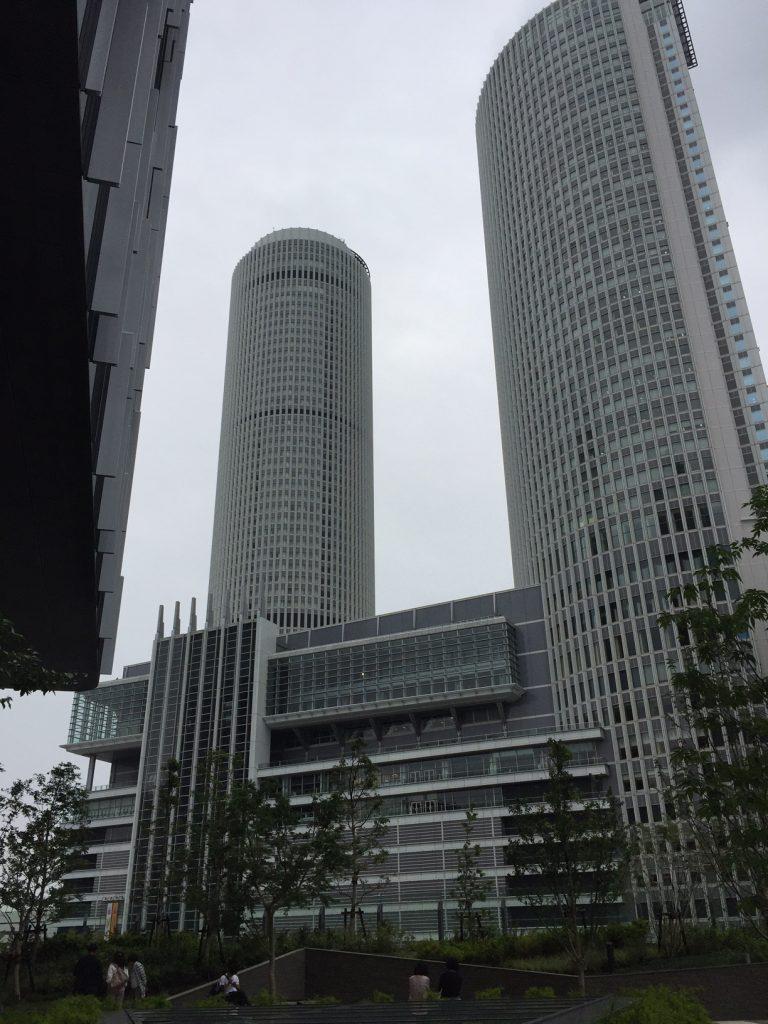 大名古屋ビルジングから見えるタワーズ