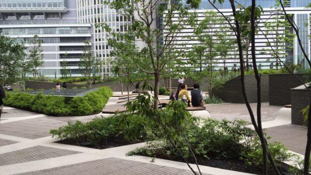 大名古屋ビルジングの庭園